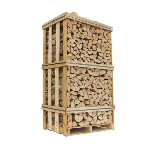 brændetårn med lufttørret ask