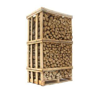 brændetårn med lufttørret eg